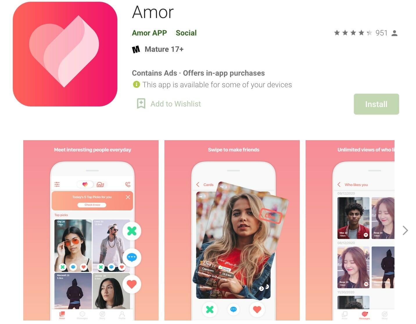 Amor app